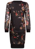 TRAMONTANA DRESS V-NECK CHINESE FLOWER C07-92-501 _7