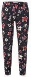 YAYA  TROUSERS WITH ALL OVER FLOWER PRINT 121117-912_5