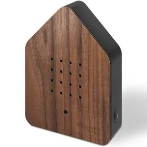ZWITSCHERBOX WOOD WALNUT/BLACK 4260529150105