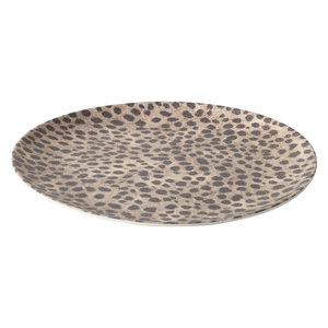 YAYA HOME BAMBOO BREAKFAST PLATE WITH JUNGLE PRINT H300004