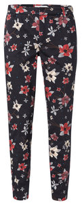 YAYA  TROUSERS WITH ALL OVER FLOWER PRINT 121117-912