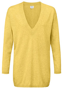 YAYA  FINE KNITTED SWEATER WITH V-NECK  1000112-913 MY