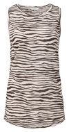 YAYA--SLEEVELESS-LINEN-MIX-TOP-WITH-ZEBRA-PRINT-1909163-913